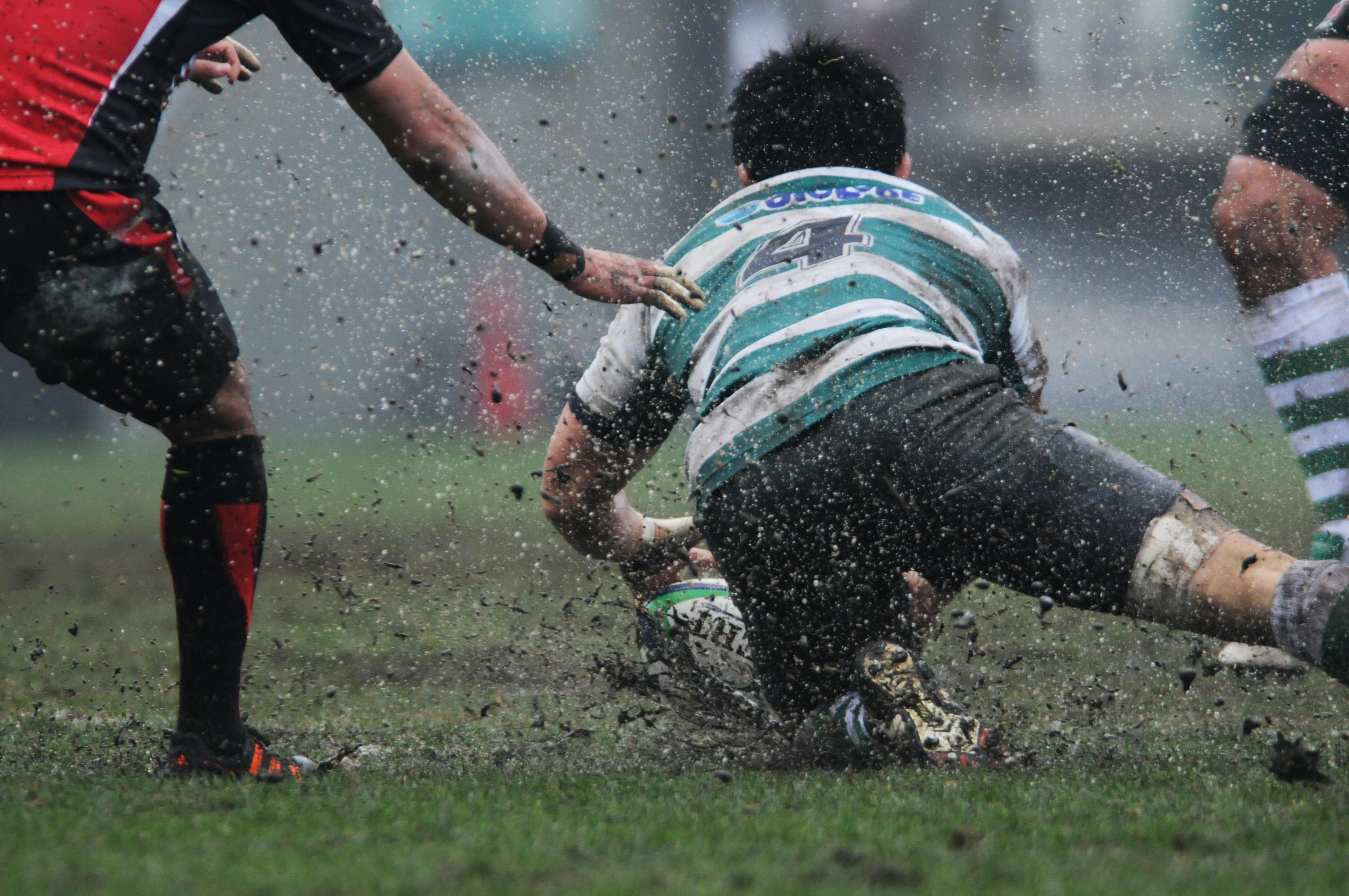 泥んこラグビー